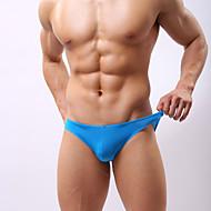 Men's Sexy Briefs Underwear Solid Colored Low Waist