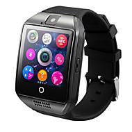 tanie Inteligentne zegarki-Inteligentny zegarek Q18 na Android Spalone kalorie / Odbieranie bez użycia rąk / Ekran dotykowy / Kamera / aparat / Śledzenie odległości Czasomierz / Powiadamianie o połączeniu telefonicznym