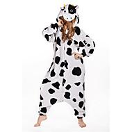 Odrasli Kigurumi plišana pidžama Krava Sa životinjama Onesie pidžama Flis Obala Cosplay Za Muškarci i žene Zivotinja Odjeća Za Apavanje Crtani film Festival / Praznik Kostimi