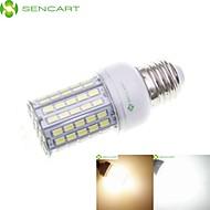 billige Kornpærer med LED-SENCART 8W 3000-3500/6500-7500lm E14 / GU10 / B22 LED-kornpærer Innfelt retropassform 102 LED perler SMD 5630 Vanntett / Dekorativ Varm