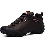 baratos Sapatos Masculinos-Homens Lona Primavera / Outono Conforto Tênis Aventura Preto / Café / Verde