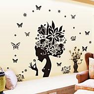 Dekorative Mur Klistermærker - Fly vægklistermærker Tegneserie Stue / Soveværelse / Spisestue
