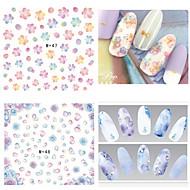 halpa -3D Nail Stickers / Nail Jewelry-PVC-Lovely-Sormi-6.6*7.2-1pcs
