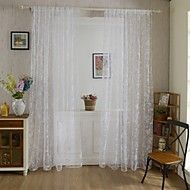 Rypytysnauha One Panel Window Hoito Kantri , Painettu Living Room Polyesteri materiaali verhot Drapes Kodinsisustus