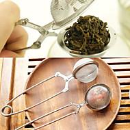 povoljno -čaj Infuser nehrđajućeg čelika čajnik Infuser sfera mrežaste cjediljka za čaj ručka čaj lopta