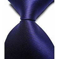 halpa -miesten juhla / ilta kuninkaallinen tarkastettu jacquard kudottu solmuke solmio