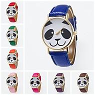 billige Kjoleur-kvinders armbåndsur pu band charm / mode sort / hvid / blå / rød / orange / brun / grøn / pink / lilla / gul / khaki /