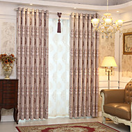 cheap Curtains & Drapes-Blackout Curtains Drapes Kids Room Novelty Polyester Jacquard