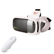 RITech 3Plus realidade virtual VR óculos 3D + controlador do bluetooth branco