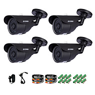 billige Overvåkningskameraer-Zosi® 1/3 tommers 1000tvl cmos ir kamera kamera kamera overvåking kamera for hjemmets sikkerhet