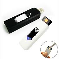 mini-eletrônico mais leve portátil USB sem chama recarregável charuto isqueiro