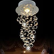 billige Takbelysning og vifter-LightMyself™ Krystall Anheng Lys Nedlys - Krystall, 110-120V / 220-240V Pære Inkludert / GU10 / 10-15㎡