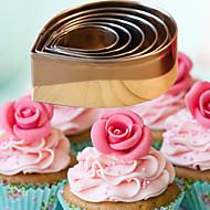 bageform Blomst Til Kage Til Cupcakes Til Tærte til brød Rustfrit stål Høj kvalitet Gør Det Selv