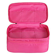 Foldable Waterproof Double-layer Travel Underwear Storage Bag