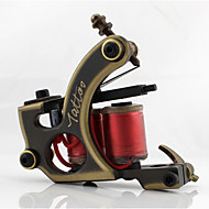 Coil Tattoo Machine Hand-polished Shader Copper Professional Tattoo Machine