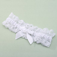 Poliéster Renda Wedding Garter - Laço Renda