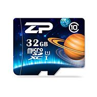 ZP 32GB マイクロSDカードTFカード メモリカード UHS-I U1 クラス10
