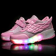 ieftine -Băieți Fete Pantofi Piele Primăvară Vară Toamnă Iarnă Confortabili Pantofi Skate Pantofi Usori Adidași Dantelă Bandă Magică LED Pentru De