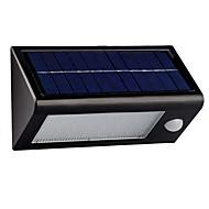 billige Utendørs Lampeskjermer-50 stk Natt Lys / Skjerm / LED- Leselampe Soldrevet Sensor / Fjernstyrt / Vanntett 12V