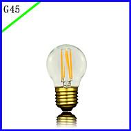 bofa led g45 3wアンティークエジソンシルクボール泡ランプ(85V-265V)