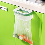cheap Kitchen Organization-Receive Bag Rack Can Wash The Kitchen Door Type Ambry Trash Can Support