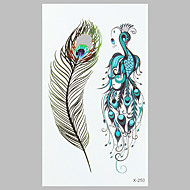 billiga Tatuering och body art-1 Ogiftig Mönster Vattentät Tatueringsklistermärken Klassisk Hög kvalitet Dagligen
