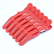 Neitsi Plastic Croc Non Slip Clips Hair Styling Salon Clips 6pcs/pack
