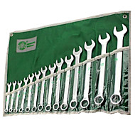 BERRYLION® 14 Sets Of Combination Wrenches Opening Wrench Set Kit Hardware Hand Tools