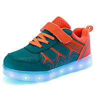 운동화-야외 캐쥬얼 운동-남아-첫 신발 신발에 불 빛나는 구두-튤-낮은 굽-