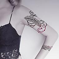 halpa -Tatuointitarrat Korusarjat Eläinsarja Kukkasarjat Toteemisarja piirrossarjan Piirretty Naisten Miesten Aikuinen Teini Flash Tattoo