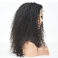 Ženy Střední Sytě černá Černá Tmavě hnědá Kinky Curly Přírodní vlasová linie Boční část Umělé vlasy Se síťovanou přední částí Přírodní