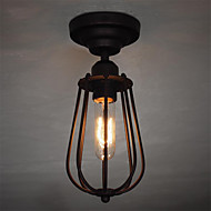 billige Taklamper-CXYlight Takplafond Omgivelseslys - Mini Stil, Retro Rød, 110-120V 220-240V Pære ikke Inkludert