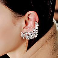braçadeira de orelha de cristal completa para o estilo feminino clássico da festa Layd (1 pc)