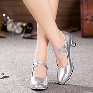 billiga Dansskor-Dam Moderna skor Glitter / Syntetiskt / Lack Sandaler / Högklackade / Sneaker Glitter / Spänne / Krusad Kubansk klack Går ej att