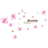 Stillleben Romantik Mode Blumen Worte & Zitate Cartoon Design Freizeit Botanisch Wand-Sticker Flugzeug-Wand Sticker Dekorative Wand