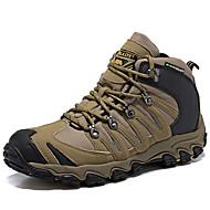 Χαμηλού Κόστους Παπούτσια για πεζοπορία-Πεζοπορία Παπούτσια Αντρικά Νάπα Leather Χακί