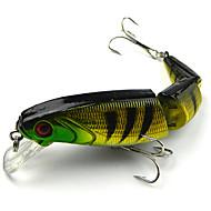 cheap Fishing-1 pcs Fishing Lures Minnow Hard Bait Plastic Freshwater Fishing Trolling & Boat Fishing Lure Fishing