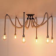 baratos -Vintage Luzes Pingente Para Sala de Estar Quarto Cozinha Sala de Jantar Quarto de Estudo/Escritório Entrada Quarto de Jogo Corredor
