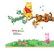 Životinje Mrtva priroda Moda Cvjetnih Botanički Crtani film Slobodno vrijeme Zid Naljepnice Zidne naljepnice Frižider Naljepnice, PVC