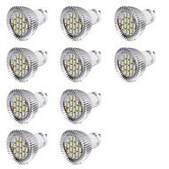 GU10 LED-spotpærer MR16 16 leds SMD 5630 Dekorativ Kjølig hvit 560lm 6000K AC 220-240V