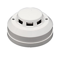 fotoelétrico detector de fumaça do fogo de alarme com fio de saída do sensor / NF DC12V sensibilidade ajustável para segurança em casa