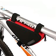 ROSWHEEL® Sykkelveske 1.5LVesker til sykkelramme Vanntett Glidelås Fukt-sikker Støtsikker Anvendelig Sykkelveske PVC 600D Polyester