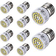 billige Spotlys med LED-E26/E27 LED-spotpærer T 24 leds SMD 2835 Dekorativ Varm hvit Kjølig hvit 300lm 3000/6000K AC 220-240V