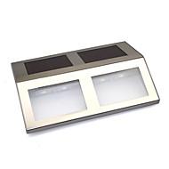 billige Utendørs Lampeskjermer-solenergi fire SMD LED dock sti sti steg trafikksikkerhet markør signallys