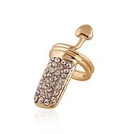preiswerte -Damen Nagel-Finger-Ringe Personalisiert Party Freizeit Sexy Liebe Herz Modisch Europäisch Diamantimitate Herz Schmuck Alltag Normal