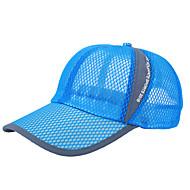 כובע ריצה כובע נושם / עמיד אולטרה סגול יוניסקס כושר גופני / גולף / כדור בסיס אביב / קיץ / סתיו / חורף לבן / אדום / אפור / שחור / כחול