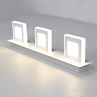 tanie Kinkiety Ścienne-Prosty / DOPROWADZIŁO / Nowoczesny / współczesny Lampy ścienne Metal Światło ścienne 90-240V 3 W / LED zintegrowany
