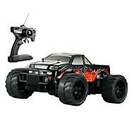 RC auta HUANQI 543 2.4G 4WD Vysokorychlostní Drift Car Off Road Auto Bugina (off-road) 1:14 Bezkartáčový elektro 15 KM / H Dálkový