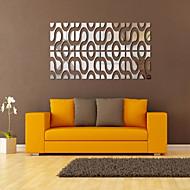 billiga Väggklistermärken-Fritid Väggklistermärken Väggklistermärke i spegelstil Dekrativa Väggstickers, pvc Hem-dekoration vägg~~POS=TRUNC