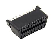 16 pinos OBD encapsulado conector obd2 16p feminina j1962f feminina soldada